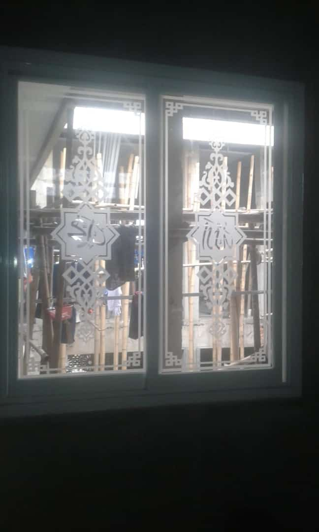 projects sandblast motif ornamnet
