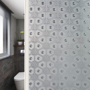 sticker kaca jendela motif