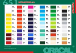 katalog sticker oracal